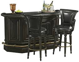 Wayfair Kitchen Pub Sets by Burnished Black Bar Cabinet By Howard Miller Wolf And Gardiner