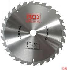 Radio El Patio Hn by Bgs Tools Carbide Tipped Circular Saw Blade Diameter 190mm 24