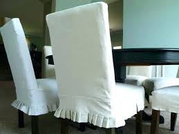 Short Dining Chair Covers Best Sure Fit Room Slipcovers Of