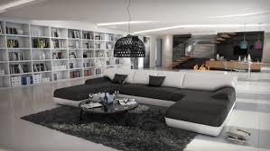 canapé design canapé panoramique en cuir woburn gdegdesign