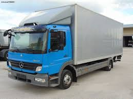 100 Mercedes Box Truck MERCEDESBENZ 924L 10241023 ATEGO EURO 5 Closed Box Trucks For