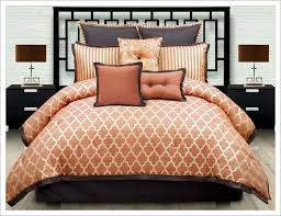 Chocolate And Burnt Orange forter Set Brown Blankets Pinterest