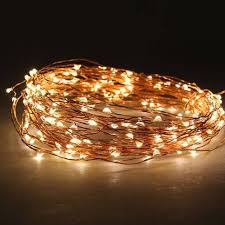 warm white 200 led micro battery operated lights string