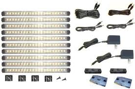 led light design hardwired led cabinet lighting dimmable