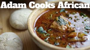African Soup With FuFu Recipe How To Cook That