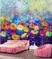 custom vintage blumentapete abstrakte kunst blume tapete hotel restaurant wohnzimmer tv sofa wand schlafzimmer papel de parede