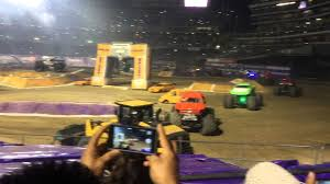 100 Monster Truck Show Oakland Ca MONSTER JAM OAKLAND CA 2015 YouTube