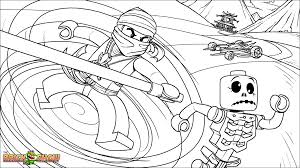 Download Coloring Pages Lego Ninjago Printable Page For Cole Fighting