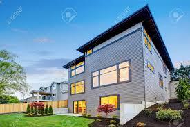 100 Contemporary House Siding Luxurious Contemporary Threestory Wood Siding Home Exterior