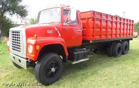 100 Gj Truck Sales 1974 Ford W911 Grain Truck Item ER9699 SOLD September 1