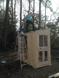 Ana White Shed Chicken Coop by Christine Enchanted Gardens Farm Building A Chicken Coop And A