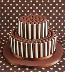 happy birthday chocolate cake with name edit free trio fudge