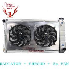 100 68 Chevy Truck Parts 3 Row RadiatorShroudFan For 19671972 1971 1970 69 CHEVY CK 10