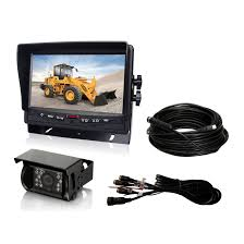 100 Truck Camera System China 7inch Heavy Duty 24V CCD Bus Rear View