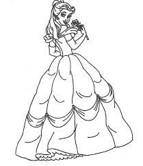 Cinderella Coloring Pages Online