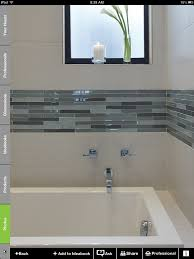 glass border tiles for bathrooms peenmedia