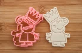 Peppa Pig With Stars Pumpkin Stencil by Princess Peppa Pig Cookie Cutters Cookies Peppa Pig
