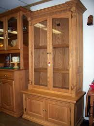 Wooden Gun Cabinet With Etched Glass by Amish Made Custom Gun Cabinets The Wood Loft Amish Custom Made