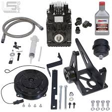 100 Little Shop Of Horrors Mini Trucks GM 48 53 60 62 LS Belt Driven Compressor Kit