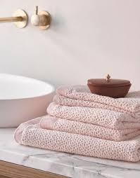 essenza connect organic handtuch set rosa