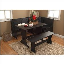 Walmart Kitchen Table Sets by Small Black Kitchen Table Sets Breakfast Nook 3 Piece Corner