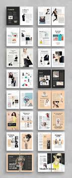 100 Magazine Design Inspiration Document With 34 Unique Pages Editorial
