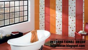choose the best design and color of wall tile for bathroom home