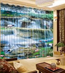 Cheap Waterfall Valance Curtains by Online Get Cheap Waterfall Luxury Curtain Aliexpress Com