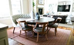 Settee Dining Set Room Table With At