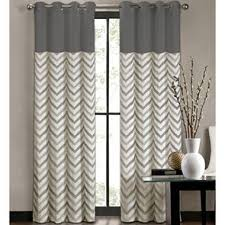 tribal stripe grommet top curtain panel i jcpenney