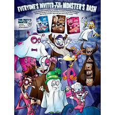 Book Characters For Halloween by General Mills Monster Cereals Return For Halloween 2017