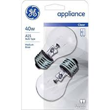 ge appliance light bulb 40w a15 2 count pack of 3