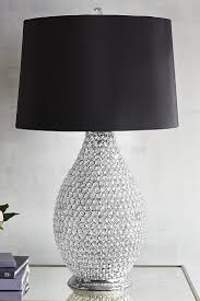 Pier 1 Mosaic Floor Lamp by Black U0026 Crystal Bead Table Lamp Crystal Ball Absolutely