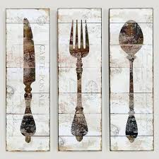 Wood Fork And Spoon Wall Hanging by 71 Best Knife Fork U0026 Spoon Wall Art Images On Pinterest Fork
