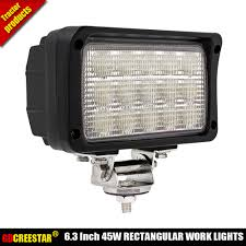 6x4 Rectangular Flood Beam Led Work Lights 12V 24V Car Led Truck ... Turbosii Pair 7 Inch Led Light Bar Off Road Driving Fog Lights Super 10w Roundsquare Spotflood Beam Led Work For Car Motorcycle Land Rover Defender Offroad Truck 4x4 27w Round Spot Lightfox 20 Inch 126w Cree 4wd Flood 4 54w Flood Dc 1030v 172056 Lamp 2 Cree For Dicn 1 5in 45w Floodlights 45w Working 1pcs 5inch 18w Pod 2pcs 27w Tractor Boat