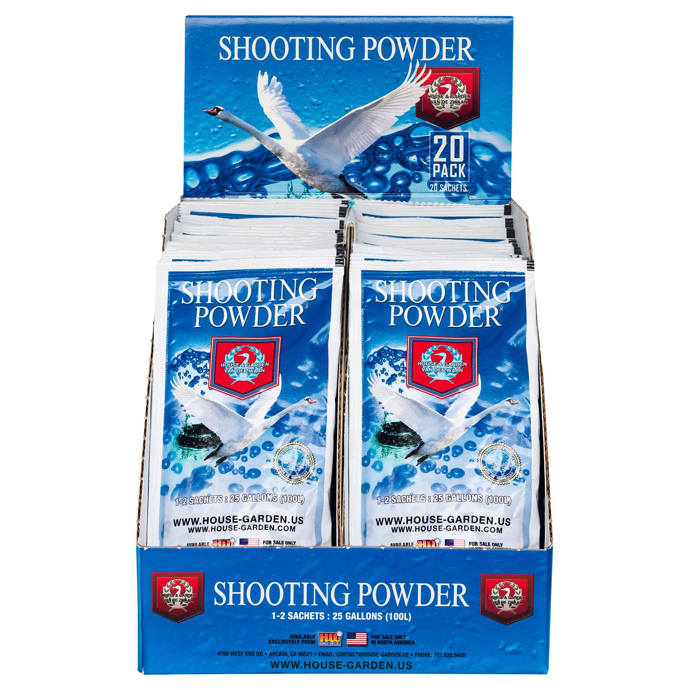 House and Garden Shooting Powder Sachet (1=20/Cs)
