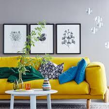 wohnideen mit farben einrichten und dekorieren mit gelb