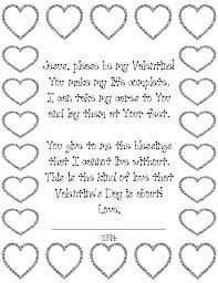 Valentines Day Poem For Jesus Kids Can Read The And Color Hearts Great Christian Schools Sunday School Childrens Church