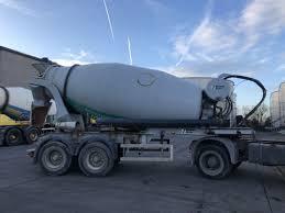 100 Concrete Truck Capacity STETTER STETTER MIXER 10 M Mixer Semi Trailer