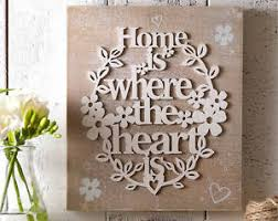 Image Is Loading Home Where The Heart Wall Plaque
