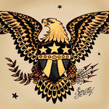 Norman Sailor Jerry Collins Eagles Are Symbols For America Representing