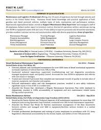 Military Resume Examples For Civilian Cool Free To Builder Simple