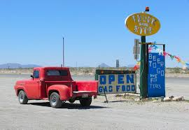 100 Truck Stops California Stop In The Desert Points Of View Artists Of