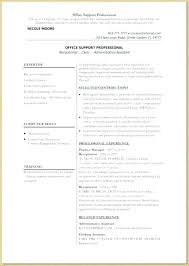 Manager Resume Medical Office Samples Examples For Receptionist Jobs