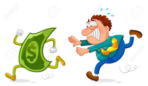 Taking Money Funny Clipart 1