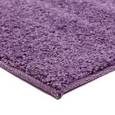 tapis aubergine pas cher grand tapis shaggy pas cher parme 160x230cm monbeautapis