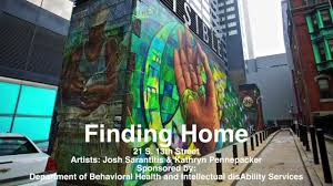 Philly Mural Arts Love Letters by Mural Arts Finding Home Youtube