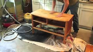Vintage Tiger Oak Dresser by How To Refinish A Dresser Birds Eye Maple Garage Sale Find Youtube