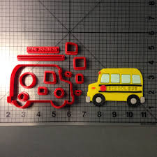 School Bus Cookie Cutter Set Decopac Fire Truck Cake Topper Sweet Baking Supply Cristins Cookies November 2014 Amazoncom Grandpas Old Farm Pickup Cookie Cutter Kitchen Ems Medical Page 1 Ecrandal Handmade Copper Cookie Cutters Custom Made 3d Printed Traffic Tools Train Behance Ambulance 100 Set Mumma Cakes Bake At Home Kits Rm Cookiesandwich Zulily Fighters To The Rescue With