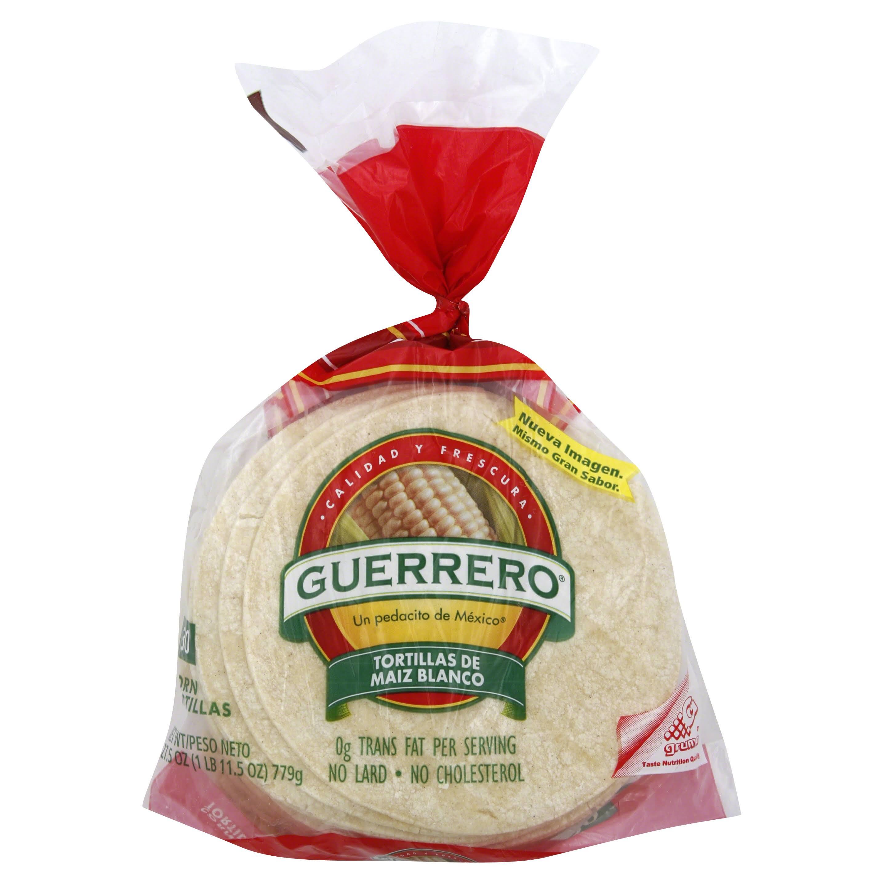 Guerrero Corn Tortillas - 25oz, 30ct